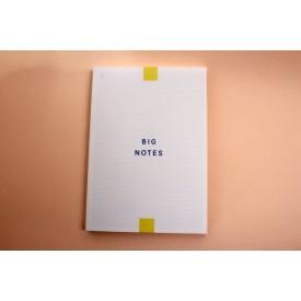 누드제본 BIG NOTES 디자인 노트